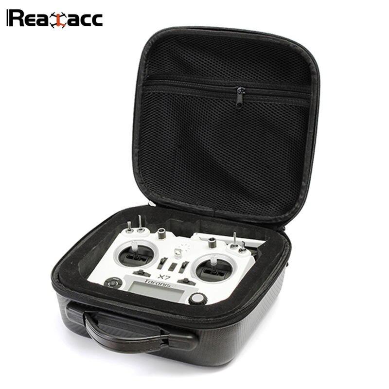 Original Realacc Remote Control Handbag Backpack Bag Carrying Case With Sponge For Frsky Taranis X9D PLUS SE Q X7 Transmitter