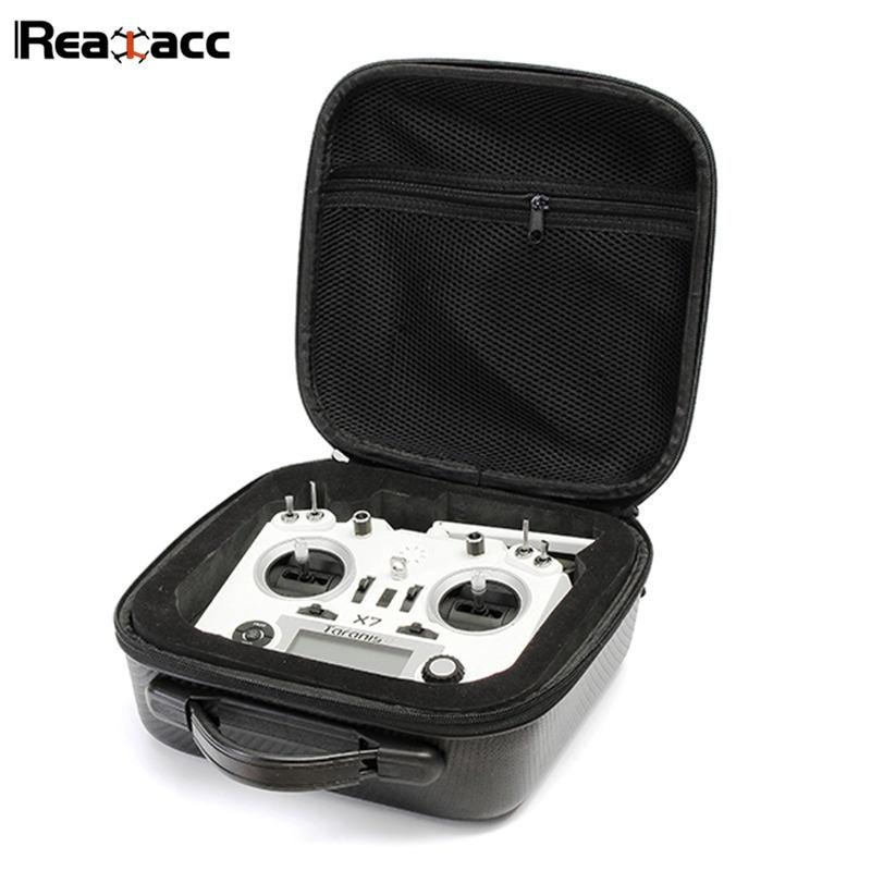 Original realacc Control remoto bolso mochila bolsa estuche con esponja para frsky Taranis x9d Plus se q X7 transmisor