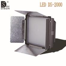 Dison DS-2000 150W LED Video Light 3200k-5500K CRI95 Camera Photo LED Video Lamp for Canon Nikon Pentax DSLR Camera Camcorder