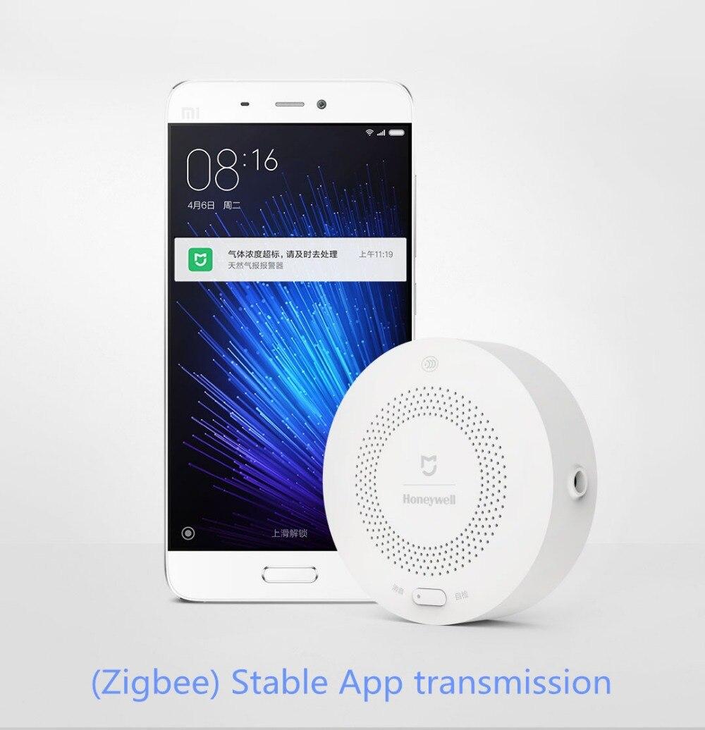 Détecteur d'alarme de gaz Xiaomi Honeywell, Aqara Zigbee télécommande CH4 surveillance plafond et mur installation facile Mijia APP - 6