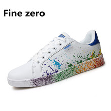 Fine Zero Men flats Breathable Basket Femme Tenis White Shoes Super cool Star Zapatilla Chaussure Homme tenis masculino adulto
