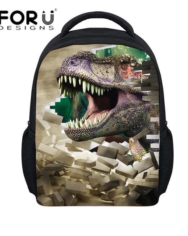 New Fashion 3D Animals Dinosaur Back pack for Kids,Girls Small School bag for Child,Small Child School Bag for Boys Backpack,