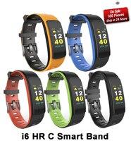 I6 HR C Smartband Color Screen Heart Rate Monitor Smart bracelet Sport Wristband Smart Band Fitness Tracker VS Mi Band 3