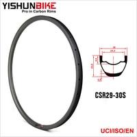 YISHUNBIKE 29er hookless горный велосипед AM kevlar MTB Велосипедный Спорт углерода Диски для ма am29 30 ck