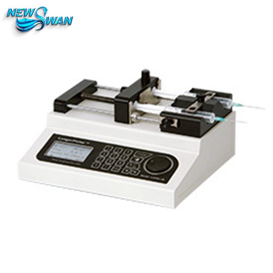 Pompe d'injection de Type laboratoire intégrée Lange pompe à Double seringue pompe à Micro-Injection LSP02-1B