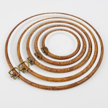 Bambusowe oprawki tamborek zestaw pierścieni koło pętli dla maszyna do haftu krzyżykowego ręcznie igły narzędzia do szycia ręcznego tanie i dobre opinie Celadon Do ściegu krzyżowego CN (pochodzenie) Zestawy narzędzi Tak ( 50 sztuk) BAMBOO
