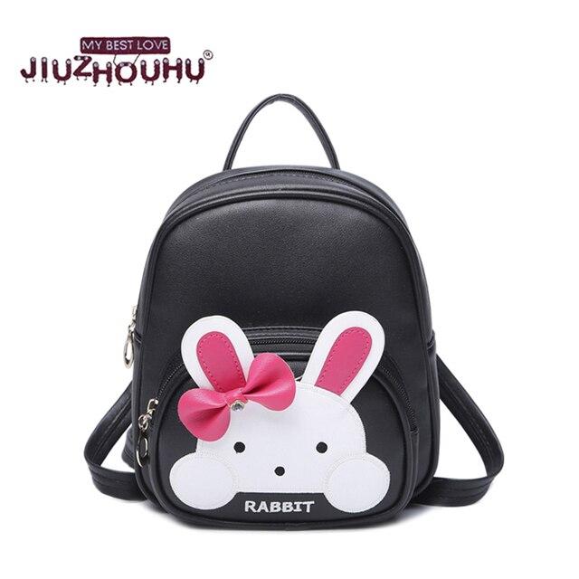 865240b00 Bolsos de escuela para la muchacha de cuero mochila mochila infantil de  material personagem kawaii escolares