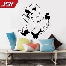 Jiangs Yu 1 PC Cartoon Pokemon Go Wall Sticker Kids Room Pikachu Decal Children