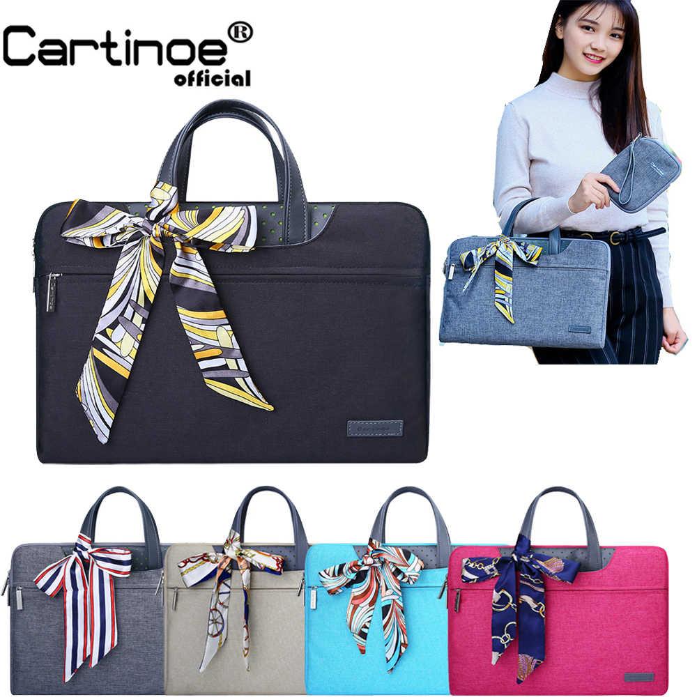 Fashion Wanita 11 13.3, 14 15.6 Inch Tas Laptop untuk MACBOOK AIR 13 Case Laptop Tas Pelindung Tas Notebook 15.6 Inch