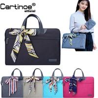 Fashion Women Laptop bag for Macbook Touchbar 13 Pro 15 Sleeve Case protective Bag office business briefcase 12 13.3 14 15.6