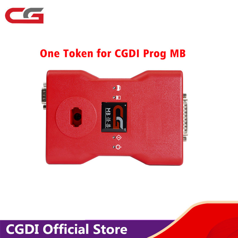 One Token for CG MB Prog for Mercedes-Benz Auto Car Key Programmer Add in 24 hours No Need Shipping