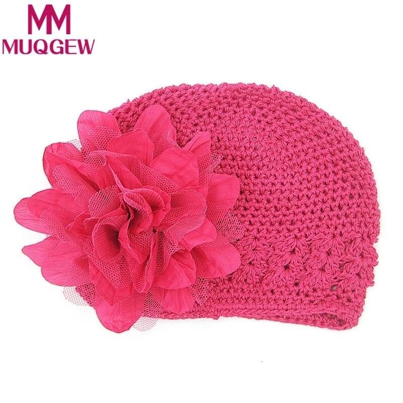 MUQGEW Весна новорожденных детские шапки для девочек шлем шапка хлопок малыш мальчик мода цветок солнца шляпа защиты головы шляпа девушка шап...