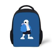 Купить с кэшбэком Undertale Games Printed School Backpacks Large Capacity Backpack Student Satchel Teenager Kids Boys Girls Casual Travel Bags