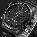 2016 новых людей часы люксовый бренд мужские кварцевые аналоговые цифровые из светодиодов часов мужчина спортивных военный наручные часы Relogio Masculino