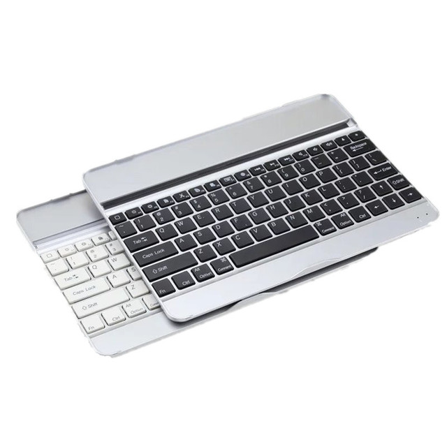 95edfc6d4bf Ultra Thin Silver Aluminum Wireless Bluetooth Keyboard Case Cover For Apple  iPad Air iPad 5 iPad