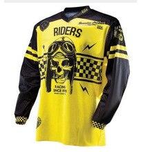 2019 Nuovo DH MX Downhill moto cross racing jersey moto rcycle moto a maniche lunghe t shirt off road jersey 100% della bici del Poliestere camicia