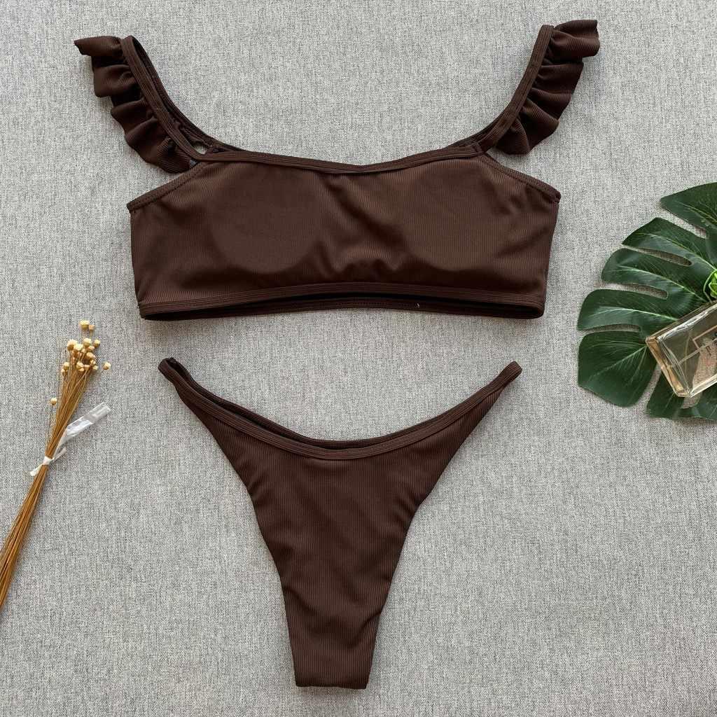 Bikini 2019 Mujer Baju Renang Wanita Tankini Baju Renang Wanita Memancing Perban Biquini Baju Bikini Pakaian Renang