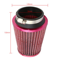 Air Filter Car Mechanical Supercharger Coche Car Filtre Air Intake Coches 76mm Air Filter Car Universal