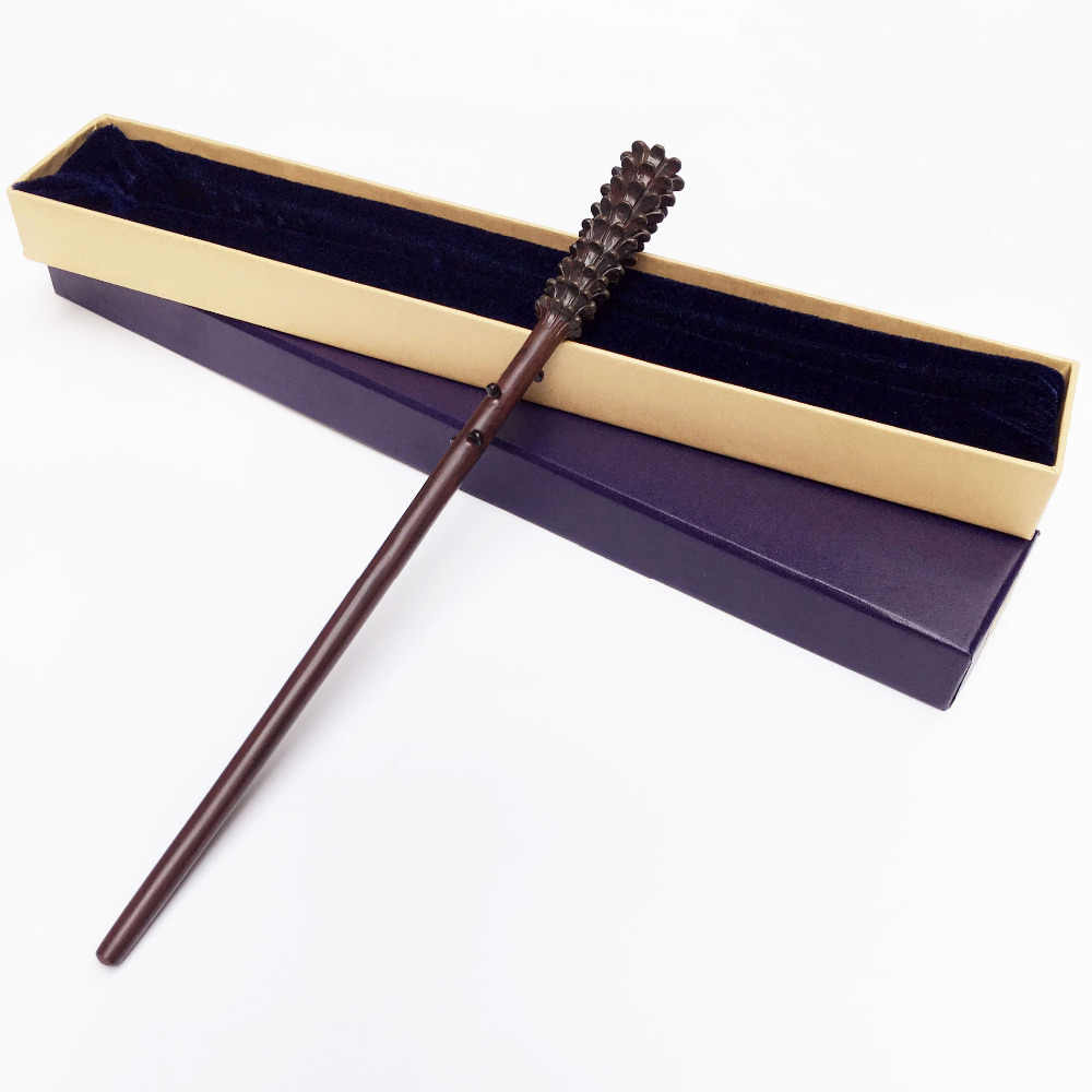 НОВЕЙШИЙ МЕТАЛЛИЧЕСКИЙ сердечник Deluxe COS Fred волшебная палочка Уизли/Волшебная волшебная палочка Harri/упаковка подарочной коробки высокого качества