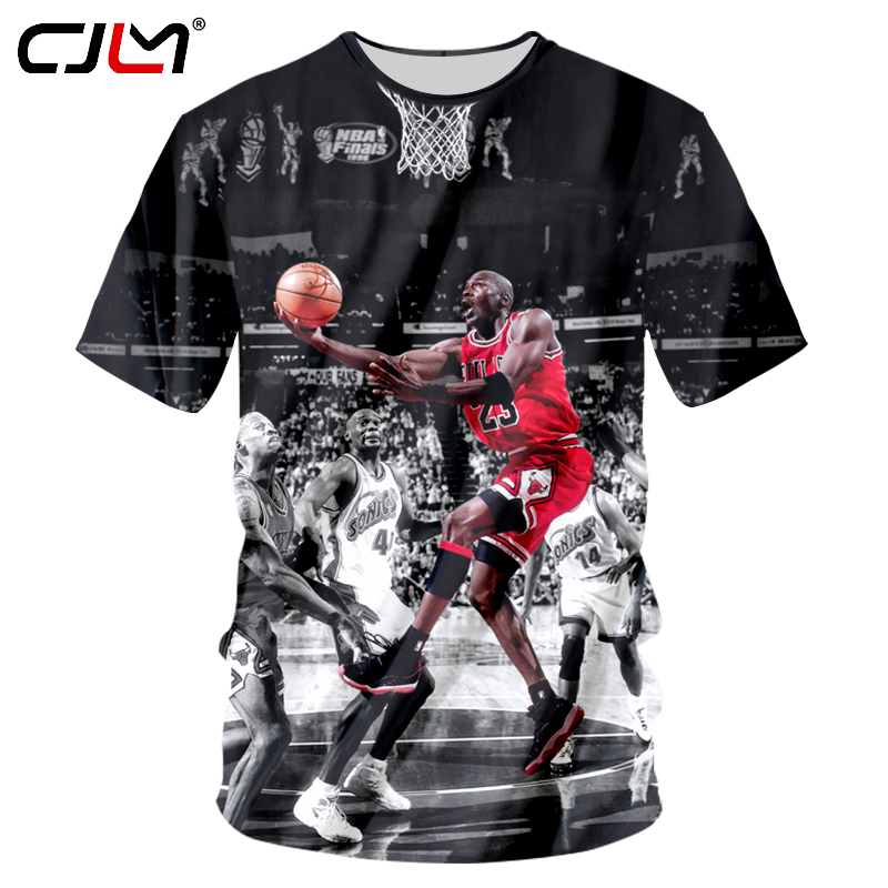 2f372e1ddcb9bb CJLM Micheal Jordan Michael Jackso T Shirt Vintage VTG Retro Sportwear 3d T-shirts  King Of Pop Tops Tees Short Sleeve Shirts