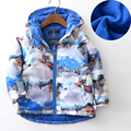 Jackets For Baby Boys Children Cartoon Dogs Printed Zipper Coats Windbreaker Hooded Autumn Coats Kinderk leding Meisjes