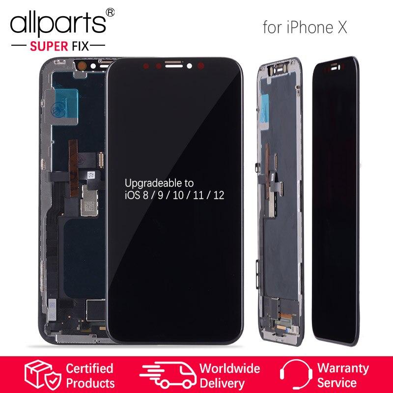 Assemblée avec Cadre Remplacement 5.8 pouces AMOLED Affichage LCD Module Tactile Écran Pour iPhone X