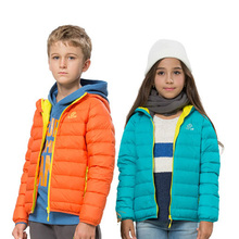 Children s Winter Thermal Duck Down Outdoor Sports Waterproof Girls Boys Coats Camping Skiing Brand Clothing