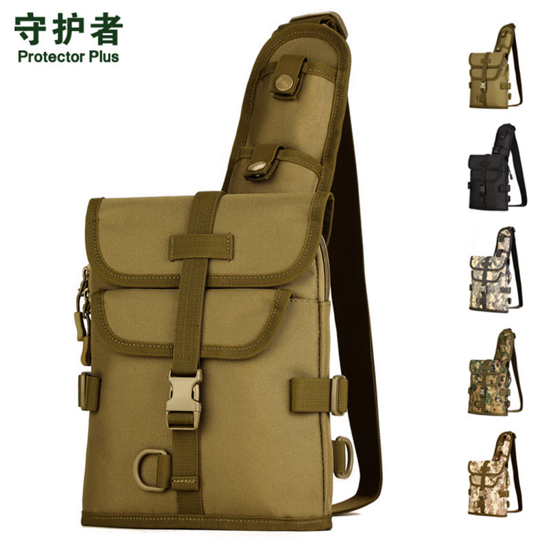 Men Waterproof 1000D Nylon Military Travel Sling Shoulder Messenger Chest Bag Shoulder Crossbody Messenger Bag car led dc12v big promotion t10 24 smd cob led panel super white car auto interior reading map lamp bulb light car light source
