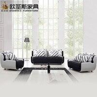Дешевые Черный и белый цвета маленький размер мини простой дизайн Современные Честерфилд кожаная ткань марокканской диваном для гостиной