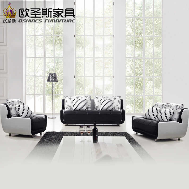 Cheap Black And White Small Size Mini Simple Design Modern Chesterfield Leather Fabric Moroccan Sofa Set For Drawing Room K001a