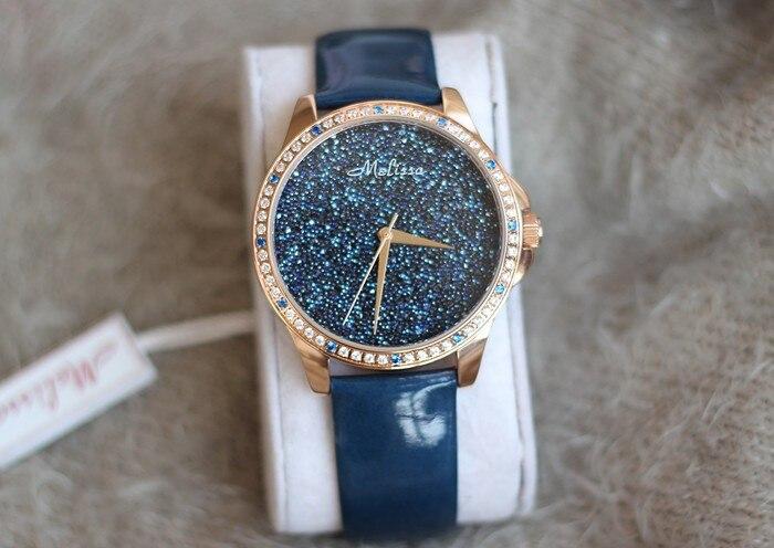 Classic Blink Blink Night Sky MELISSA Jewelry Watch Fashion Women Dress Watches Quartz Leather Wristwatch Feminino Montre F12080 зенитный прожектор night sun sf011 sky rose купить
