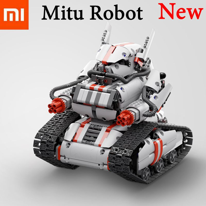 New Xiaomi Mitu Robot Tank Mecha Crawler Base Xiaomi Mi Bunny Intelligent Robot Bluetooth Mobile Remote