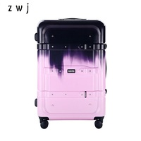 hong kong fashion large capacity 28 inch rolling luggage checking hardside suitcase