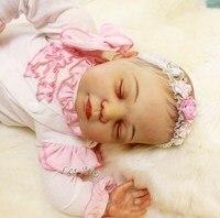 Sudoll около 22 ручной работы реалистичные для новорожденных Кукла реборн Мягкая силиконовая виниловые куклы Высокое качество