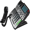 Heißer verkauf internet VoIP Telefon/IP TELEFON mit PoE und unterstützung 4 SIPs konto EP 8201-in VoIP-Gateway aus Handys & Telekommunikation bei
