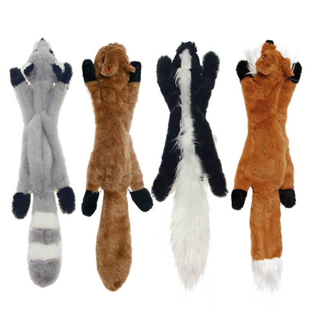 Новинка 2019, милые плюшевые игрушки, писк питомца, волк, кролик, животное, плюшевая игрушка, собака, жевательная, скрипучая, свистящая, животные белки, игрушки для собак-2