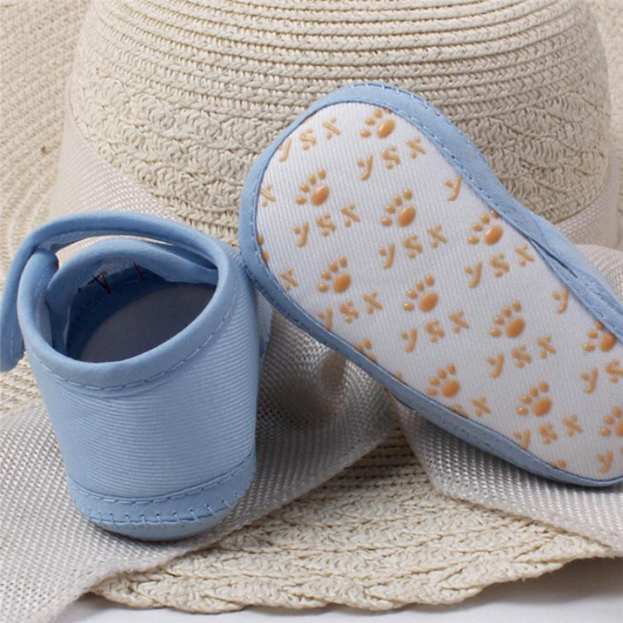 New 2018 Baby Grils Newborn Fashion Cute Cloth Baby Girl Boy Soft Sole Cartoon Anti-slip Shoes Toddler Shoes