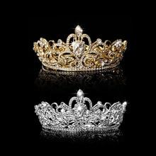 Hot Rhinestone King Crown Tiara Wedding Pageant Bridal Diamante Headpiece Jewelry