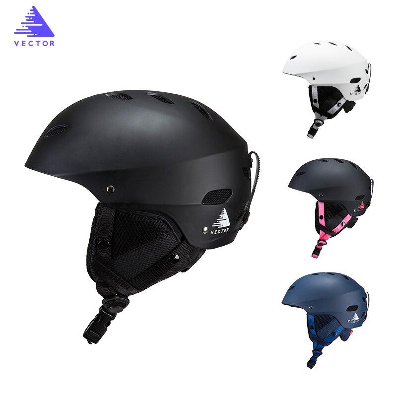 VECTEUR casque de ski Professionnel Intégralement Moulée Skateboard Snowboard Casque Ultra-Léger Respirant homme femme casque de ski 30030