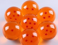 big size 1 piece 7.6cm Japan Anime Dragon ball Z star crystal ball Big Size retail package can choose star