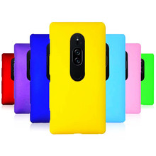 Phone Case sFor Fundas Sony XZ2 Prime case For Coque Candy Color Hard plastic PC cover phone cases
