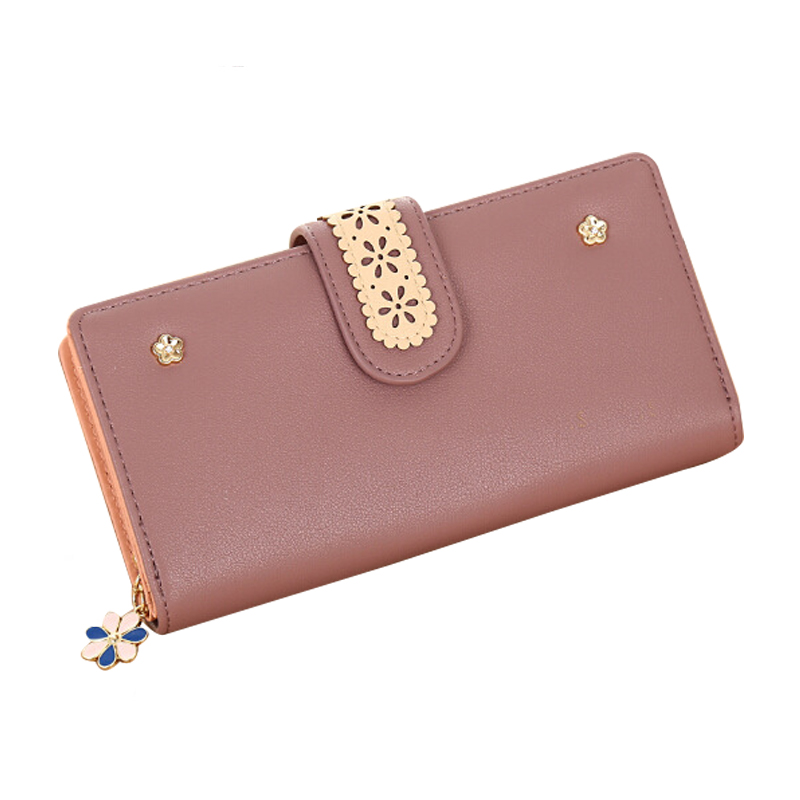 Women Purse Leather Wallet Female Long Coin Purse Zipper Card Holder High Quality Clamp For Money Women Clutch Bags Phone Wallet 2017 hottest women short design gradient color coin purse cute ladies wallet bags pu leather handbags card holder clutch purse