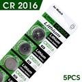 10Pcs 3V Lithium Coin Cells Button Battery DL2016 KCR2016 CR2016 LM2016 BR2016 High energy density, long life expantancy