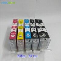 For Canon PGI 570 CLI 571 PGI 570 CLI 571 Ink Cartridge For Canon Pixma MG5750