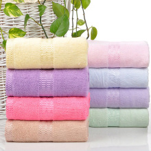 Luxury Hotel & Spa 68x136cm Bath Towel-350gsm Set of 5 Bamboo Fiber - Organic Eco-Friendly (Bath Towels, Blue)(China)