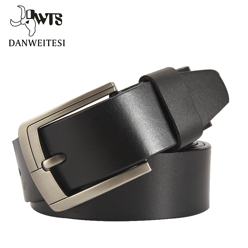 [DWTS]2016 New Arrival Mans Genuine Leather   Belt   Causual Leather   Belt   Men Luxury Brand Designs Cowhide Straps Buckle   Belt