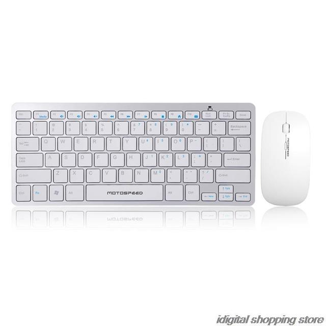 018b698ad4f Intelligent super-slim wireless keyboard and mouse bundle for DELL laptop  Lenovo Apple style sleek fashion