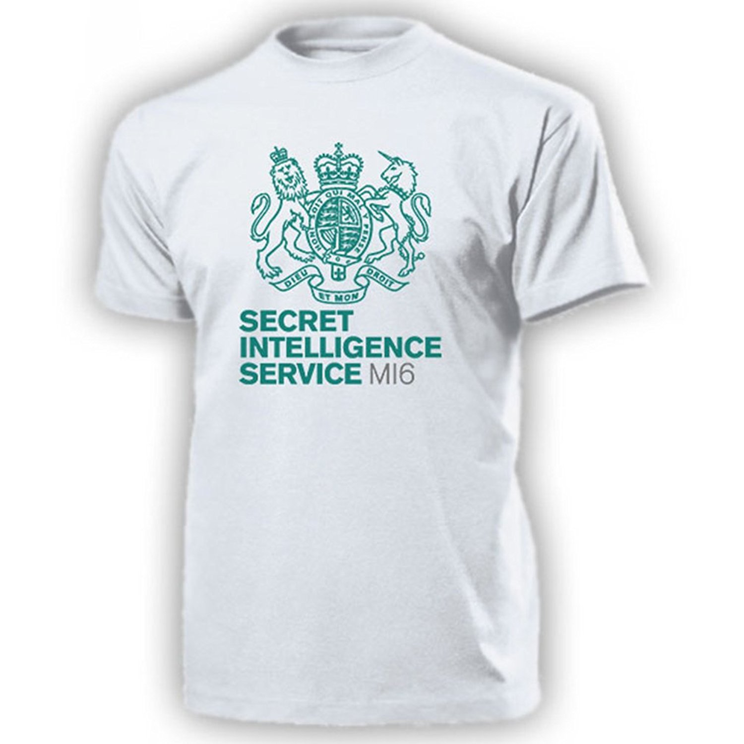 2018 Hot sale Fashion MI6 Secret Intelligence Service Foreign Great Britain Military Agent Tee shirt ...