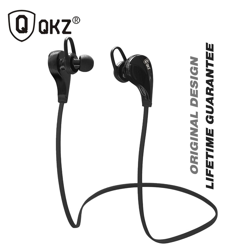 Bluetooth Headphones QKZ G6 Wireless Stereo Earphones Fashion Sport Running Studio Music Headsets with Microphone fone de ouvido qkz qg8 bluetooth earphone sport wireless hifi earphones music stereo headphone for iphone samsung xiaomi fone de ouvido