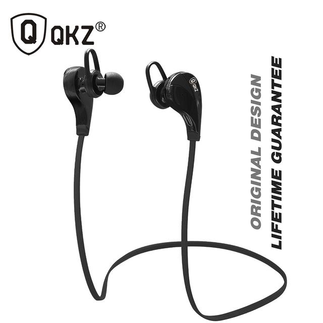 Fones de Ouvido Bluetooth QKZ G6 Moda Correr Desporto canalphones Estúdio de Música Fones de Ouvido Fones De Ouvido Estéreo Sem Fio com Microfone